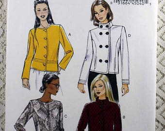 Butterick 5927, Misses' Jacket Sewing Pattern, Easy Jacket Pattern, Misses' Size 14 - 22, Easy Sewing Pattern, Pattern is Uncut