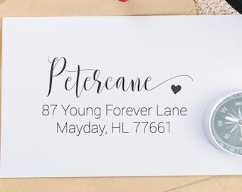 Return Adress Stamp, Self-Inking Address Stamp - Custom Address 28