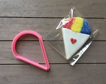 Snocone / Snow Cone Cookie Cutter