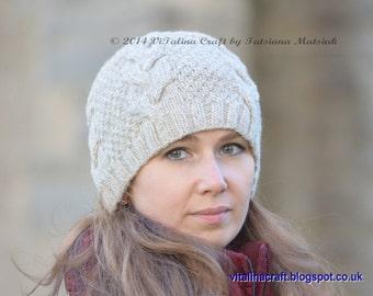 Knitting Pattern - Vanilla Cloud Adult Hat (Adult size)