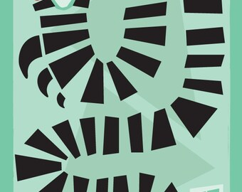 Sandworm - Beetlejuice Print