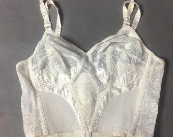 Vintage lingerie / vintage shaper / vintage girdle / vintage underwear / vintage bra / pinup lingerie 8166