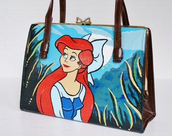 Ariel's Night Out Handbag, Vintage and Upcycled