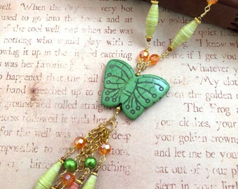 Wings of Summer - Necklace