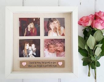 Friends Birthday Gift / Best Friends Frame / Friends Frame/ Friends Gift / Bestie Frame / Gifts for Her / Bridesmaid Gift