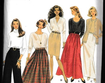 Simplicity 9890 Misses Set of Skirt and Pants