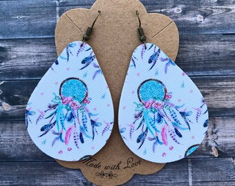 BOHO dream catcher earrings