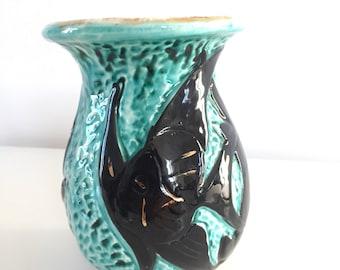 Vallauris fish vase