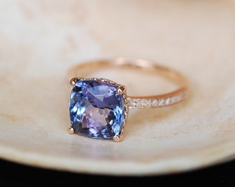 custom tanzanite wedding and ring diamond engagement rings