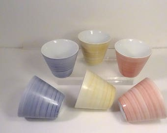 Cups espresso, pastel colors, Valentine's day gift