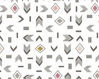 Arrow Crib Sheet - Aztec Crib Sheets / Crib Bedding Set / Changing Pad Cover / Babyletto Mini Crib Sheets / Etsy Nursery Bedding Packnplay