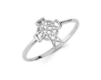 Fresh Celtic cross ring | Etsy SH66
