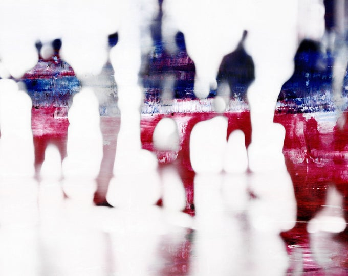 SAIGON BLUR XLVI - Mixed Media Art by Sven Pfrommer - Artwork is ready to hang