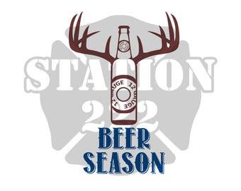 Beer Season SVG cut file