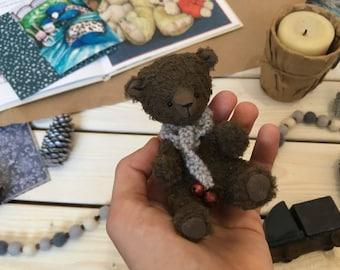 Miniature Handmade Teddy Bear