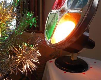 Retro Gem Color Wheel...Rotating Light for Aluminum Christmas Tree with original box