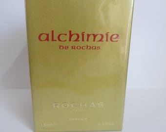 ALCHIMIE DE Rochas Pure Parfum 15ml 0.5 fl.oz very rare discontinued Vintage