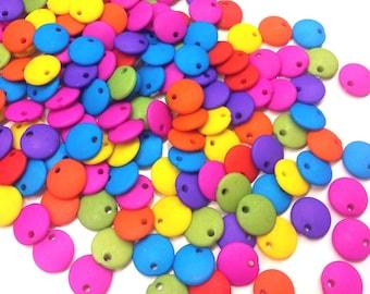 20 sequins multicolor acrylic Matt T 22