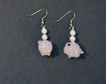 Adorability 1.0 - Pigs & Pearls Danglies