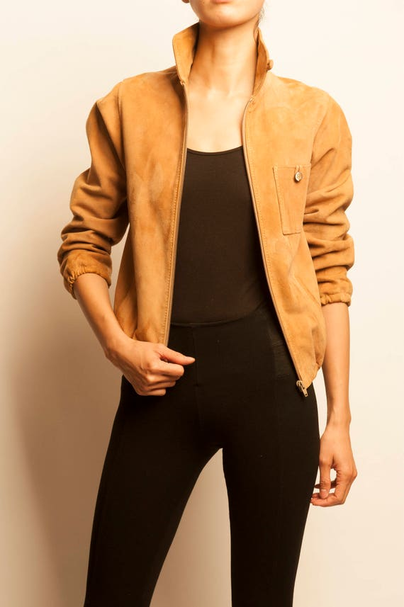 Ted Lapidus suede jacket