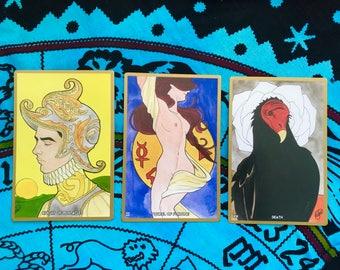 Arcana Universal - Tarot Deck / Original Art