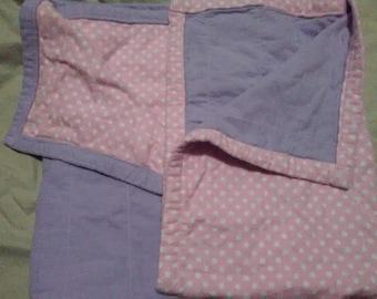 Pink Polka Dot Half & Half