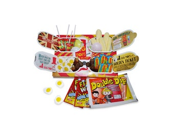 Mr Big Tops Sweet Box, Amultitude of delectably juicy scrumptious sweets, retro
