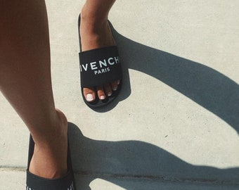 Givenchy Inspired Designer Slides Slip On Mules Sandal Shoes