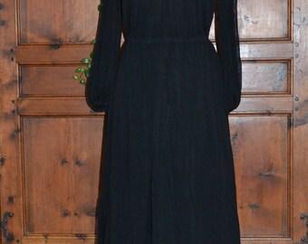 Dress veil black