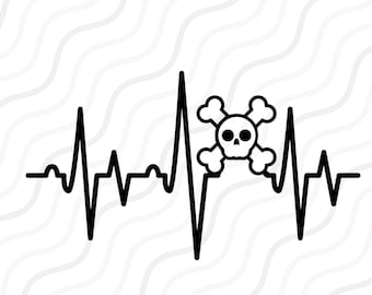 Heartbeat Line Art : Deer heartbeat svg hunting love for from