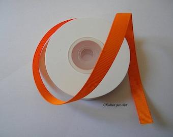 Grosgrain - Orange Ribbon - 9 mm x 10 m