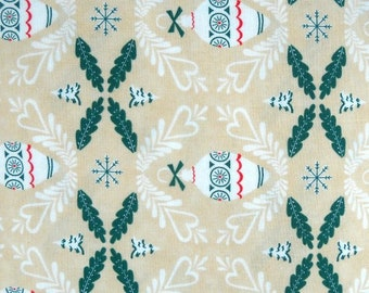 Dear Mr Claus Quilt Fabric by Cosmo Cricket for Moda 100 Percent Cotton Fabric by the Yard