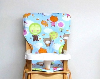 Eddie Bauer replacement highchair cover, childrens chair pad, kids furniture protector, baby accessory, custom chair cover, lollipop baby