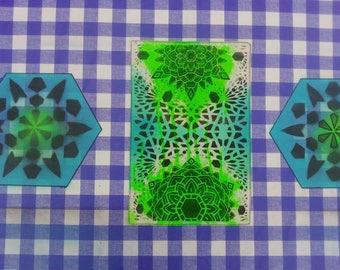 Geometric Mandala Backpatch