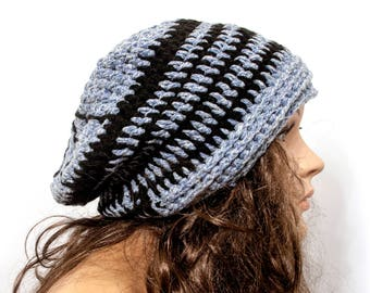 Women Knit Hat, Women's Winter Hat, Women's Slouch Hat, Gift for Her, READY to SHIP M27