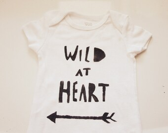 Baby Bodysuit- Wild at Heart
