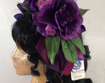 Purple Dream Fascinator Crown