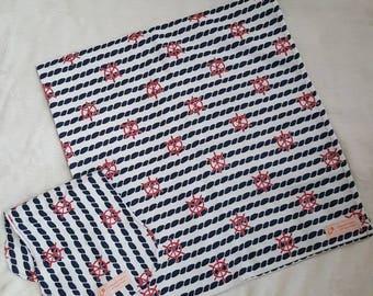 Nautical Blanket Set