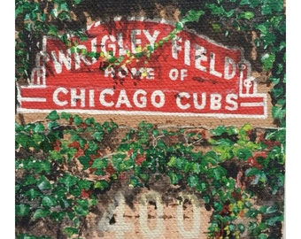 Chicago Cubs Wrigley Ivy