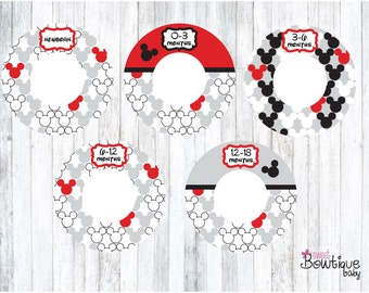 mickey clothing dividers