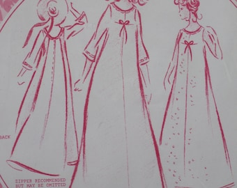 "Size 18, Bust 40"", Hawaiian Muumuu pattern, Patterns Pacifica 3003, Honolulu, sleeveless or 3/4 sleeved, includes same pattern for Barbie"