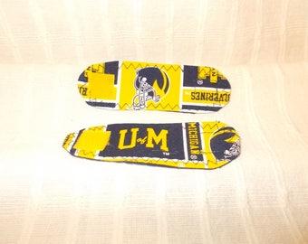 Michigan Wolverines - University of Michigan - Cord Wraps - Set of 2