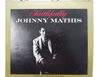 JOHNNY MATHIS - Faithfully Vinyl LP Record