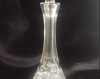 Antique Crystal Decanter