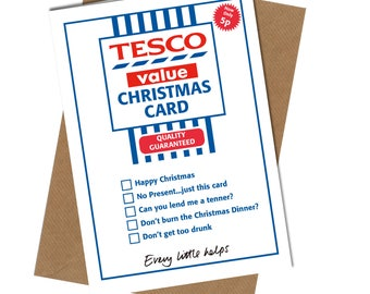 Dirty christmas card etsy no400 tesco value christmas card funny humour joke novelty crude filth cheek greetings close to the bookmarktalkfo Images