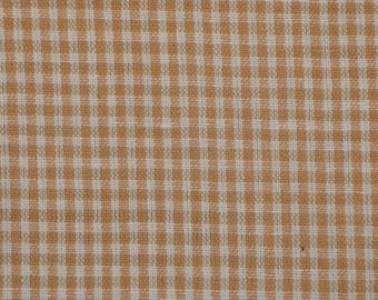 Check Fabric   Homespun Fabric   Small Check Fabric    Wheat Small Check Fabric   Cotton Rag Quilt Fabric   Wreath Making Fabric