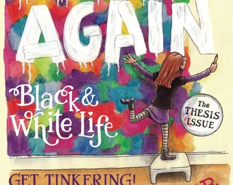 BEGIN AGAIN #3 - The THESIS Issue (Comic Magazine) print