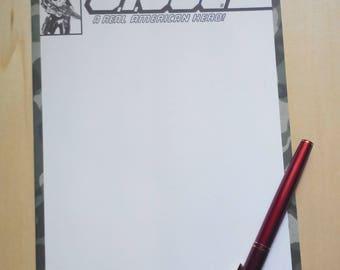 GIJoe blank cover commission comicbook by boo rudetoons snake eyes scarlet transformers cobra toys gift art cartoon avengers