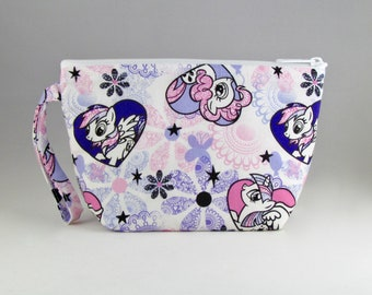 My Little Pony Hearts Makeup Bag - Accessory - Cosmetic Bag - Pouch - Toiletry Bag - Gift