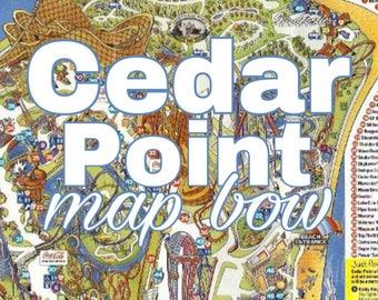 Cedar Point Map Bow